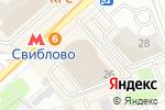 Схема проезда до компании Artwood в Москве
