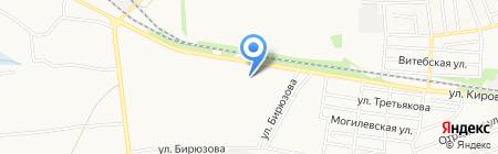 Меделикс на карте Донецка