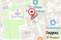 Схема проезда до компании Ривс Тревел в Москве