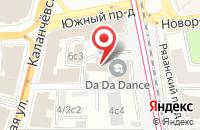 Схема проезда до компании Вестстрой-Ххi в Москве