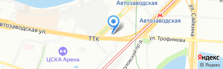 ПРОМИНВЕСТСТРОЙ на карте Москвы