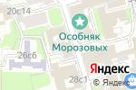 Схема проезда до компании Таргет-цель в Москве