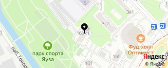 ZapFast на карте Москвы