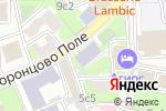 Схема проезда до компании Французский институт в Москве в Москве