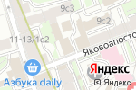 Схема проезда до компании ИНГЕОКОМ в Москве