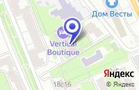 Схема проезда до компании МОСКОВСКОЕ ПРЕДСТАВИТЕЛЬСТВО ПТФ HOMAG в Москве