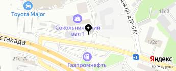 Сервис плюс на карте Москвы