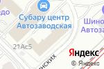 Схема проезда до компании Фансайд в Москве