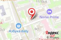 Схема проезда до компании Нью Эйдж в Москве