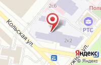 Схема проезда до компании Саунд Вижн в Москве