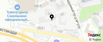 FriendAvto на карте Москвы
