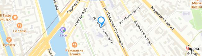 улица Малые Каменщики