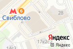 Схема проезда до компании Александрия в Москве