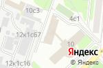 Схема проезда до компании Управление социального развития Южного административного округа в Москве