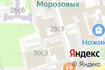 Схема проезда до компании Boommy в Москве