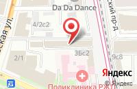 Схема проезда до компании Герикон в Москве
