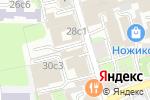 Схема проезда до компании ИМА-КОНСАЛТИНГ в Москве