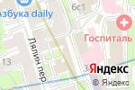 Схема проезда до компании Витамакс в Москве