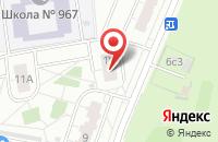 Схема проезда до компании Оливер в Москве