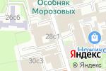 Схема проезда до компании Элгис-тур в Москве