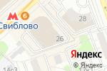 Схема проезда до компании Гайдзин Артс в Москве