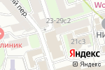 Схема проезда до компании А-Dеcor в Москве