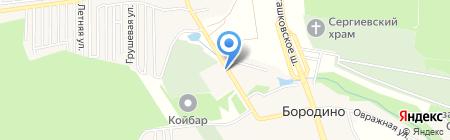 Часовня при Богоявленском храме на карте Ховрино