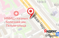 Схема проезда до компании Успешные Коммуникации в Москве