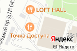 Схема проезда до компании SIL Group в Москве