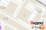 Схема проезда до компании Интерлизинг в Москве