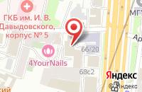 Схема проезда до компании Пульсар в Москве