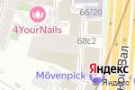 Схема проезда до компании Гамерфест в Москве