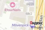 Схема проезда до компании Нотариус Крюкова Л.Н. в Москве