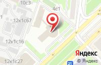 Схема проезда до компании Уралнефтесервис в Москве