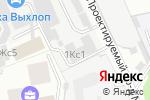 Схема проезда до компании ЕвроИнвестГрупп в Москве