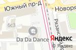 Схема проезда до компании Crazy tattoo в Москве