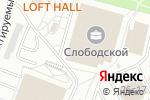 Схема проезда до компании BRICS Consulting в Москве