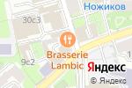 Схема проезда до компании LAMBIC в Москве