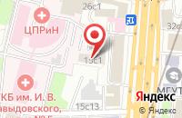 Схема проезда до компании Голдекс в Москве