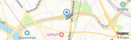 Центральный Дом Недвижимости на карте Москвы
