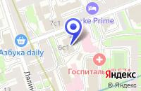 Схема проезда до компании ДК ГАЙДАРОВЕЦ в Москве