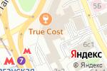 Схема проезда до компании Юнионбет в Москве