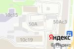 Схема проезда до компании Kvadrat в Москве