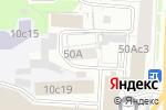Схема проезда до компании Научно-исследовательский проектный институт азотной промышленности и продуктов органического синтеза в Москве