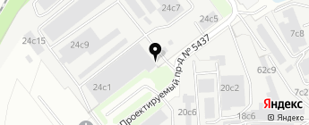 Агатол на карте Москвы