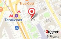 Схема проезда до компании Брендворк в Москве