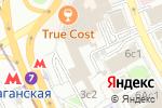 Схема проезда до компании Квадратный метр в Москве