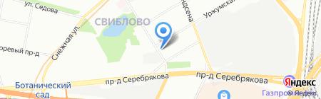 Ремэкспо ЛТ на карте Москвы