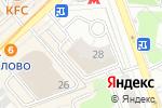 Схема проезда до компании Иверия в Москве