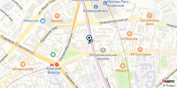 ПРЕДСТАВИТЕЛЬСТВО FRESENIUS KABI на карте Москве